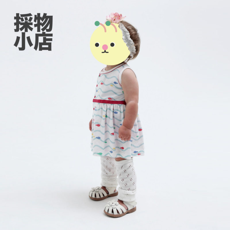 Combimini|夏日無袖裹身連衣裙