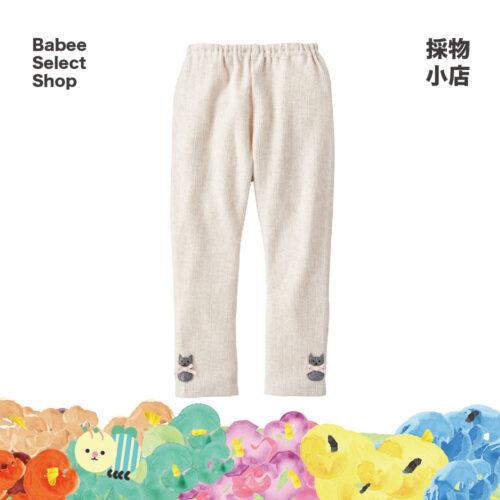 Combimini | 燕麥色棉質長褲